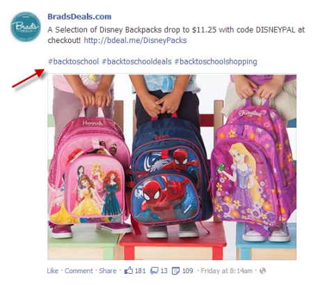 back to school hashtag