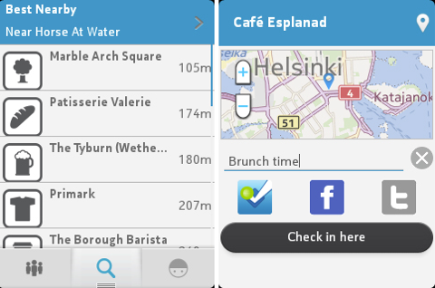 foursquare all new mobile app