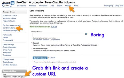 linkedin tweetchat participants