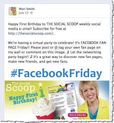 facebook venerdì