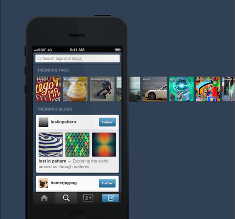 tumblr update mobile apps