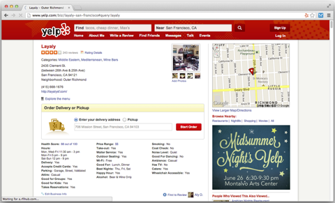 yelp introduce platform