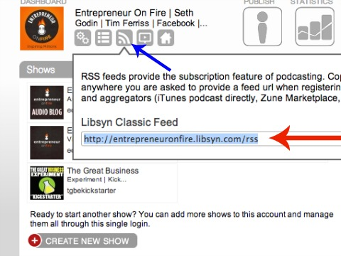 rss feed from libsyn