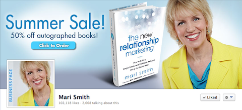 mari smith facebook timeline image