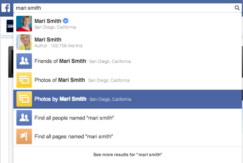 mari smith graph search