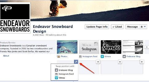 endeavor snowboard design of apps