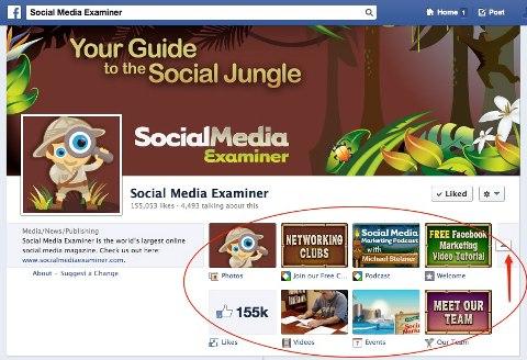 social media examiner page apps