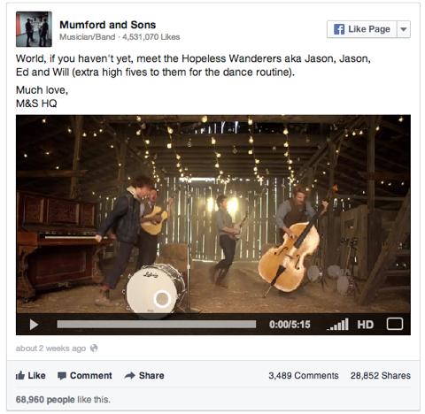 facebook in line video
