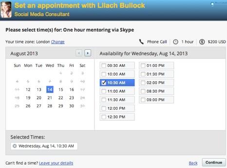vcita appointment scheduler
