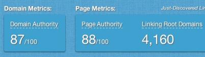 open site explorer authority check