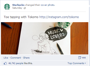 starbucks customer cover photo