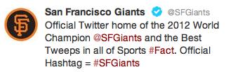 giants twitter hashtag