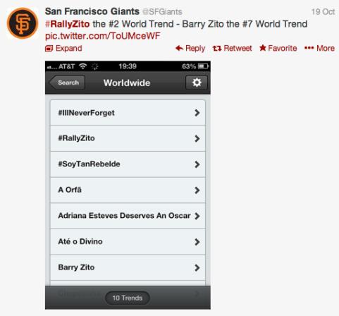 rally zito twitter hashtag