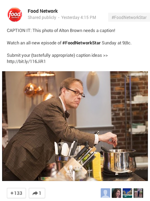 food network engagement strategy