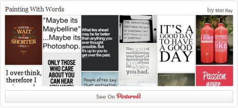 display board widget on your website