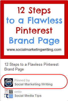 details displayed below the pin