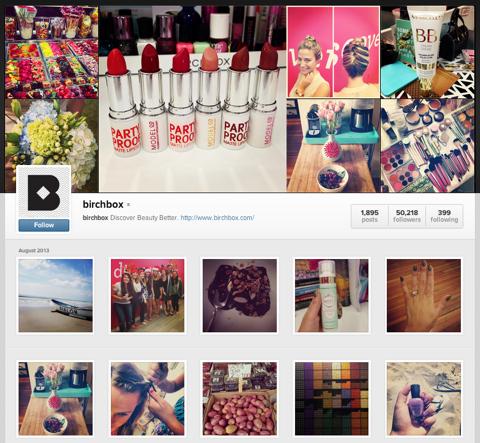 birchbox instagram