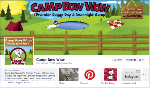 camp bow wow timeline