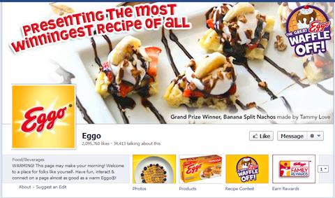eggo waffle off timeline