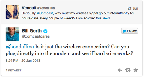 comcastcares twitter customer service