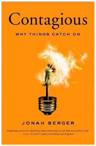 contagious book cover