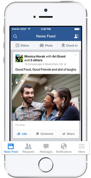 facebook ios update