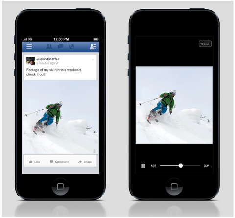 facebook watch video