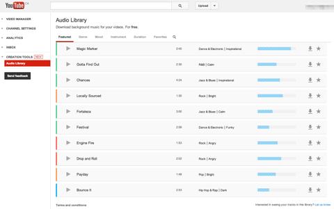 Youtube-Audiobibliothek