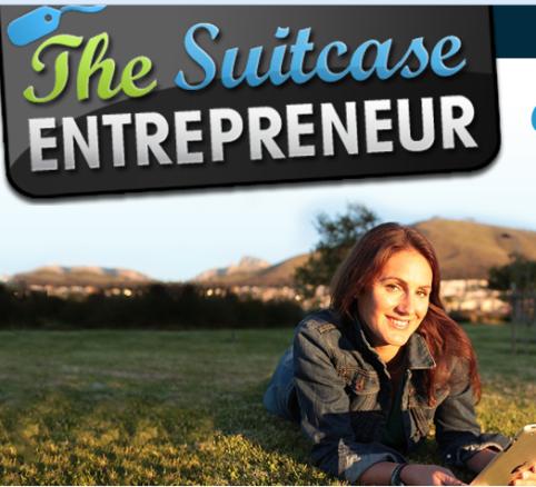 natalie suitcase entrepreneur