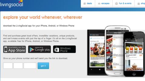 living social mobile app
