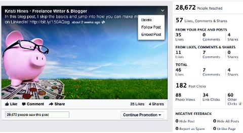 Holen Sie sich eingebettete Postleitzahl von Facebook Insights
