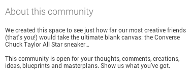 converse on google+