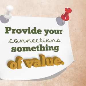 offer something of value