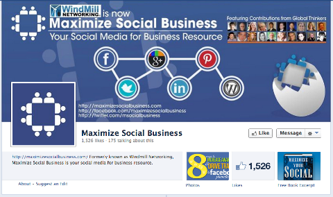 maximize social business on facebook