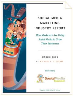 social media marketing industry report 2009