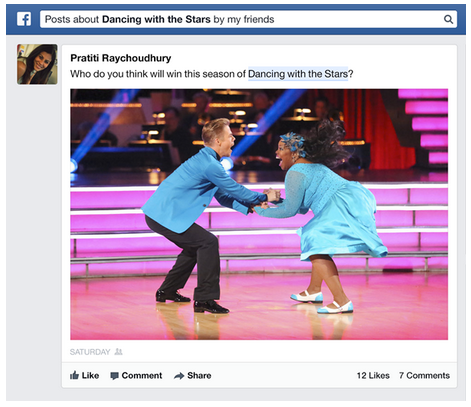 Facebook Adds Posts and Status Updates to Graph Search, This Week in Social Media