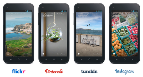flickr pinterest tumblr instagram on facebook