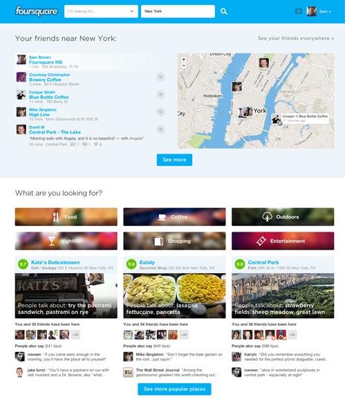 neuer Look foursquare