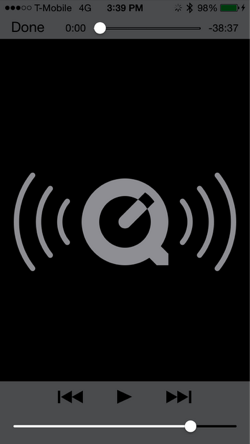 quicktime for mobile podcast