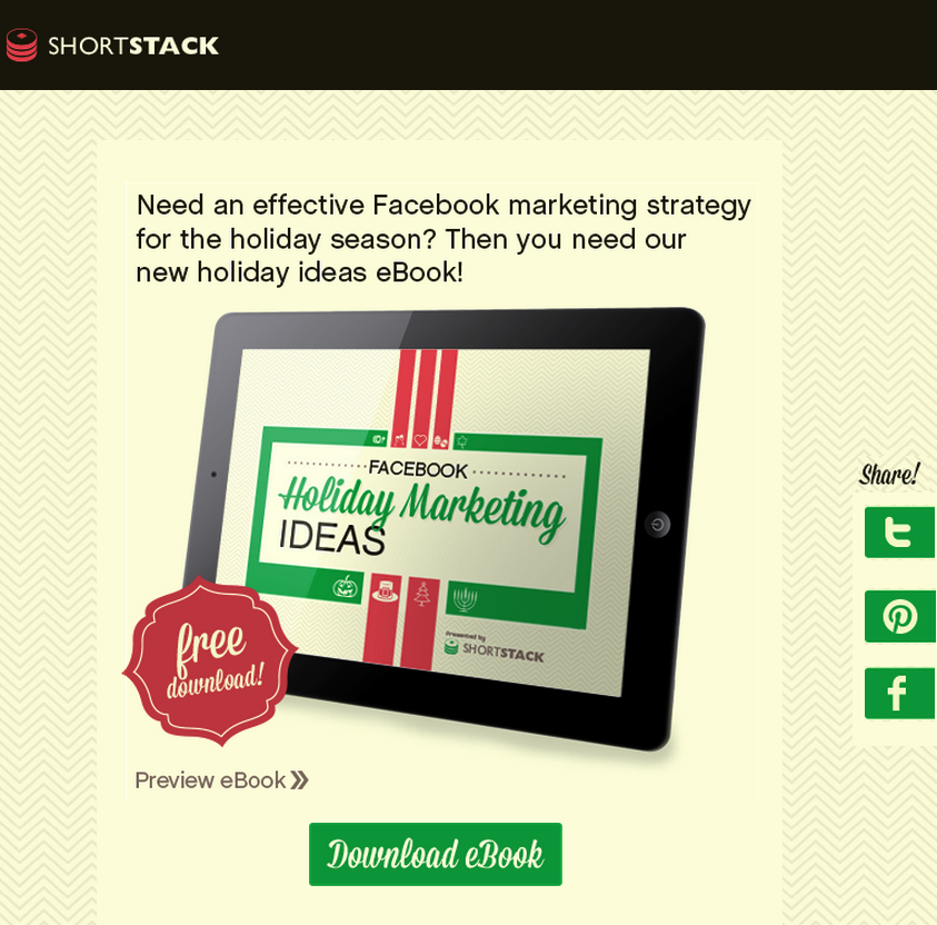 5 Ways to Prepare Your Facebook Page for the Holidays
