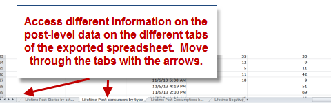 excel tabs