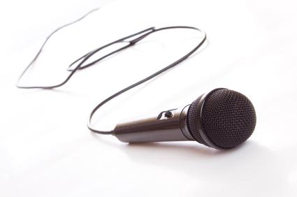 istock microphone