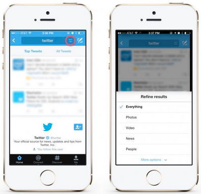 new ways to search on twitter