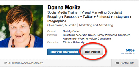 Edit Profile Linkedin  Professional Profile