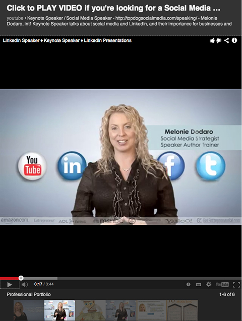 linkedin-melonie-dodaro-video