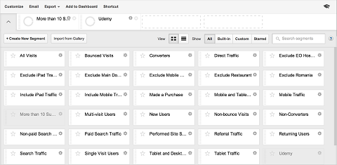 analytics segments