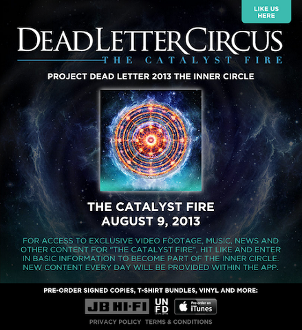 dead letter circus event app