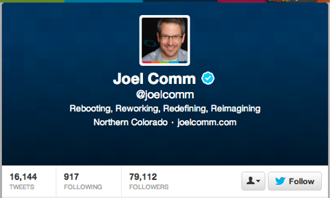 joel comm on twitter