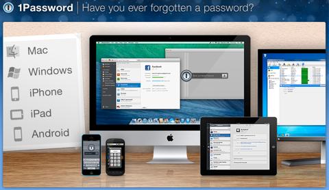 eine Passwort-Homepage