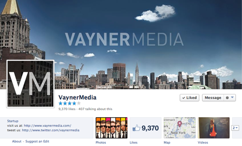 vayner media on facebook